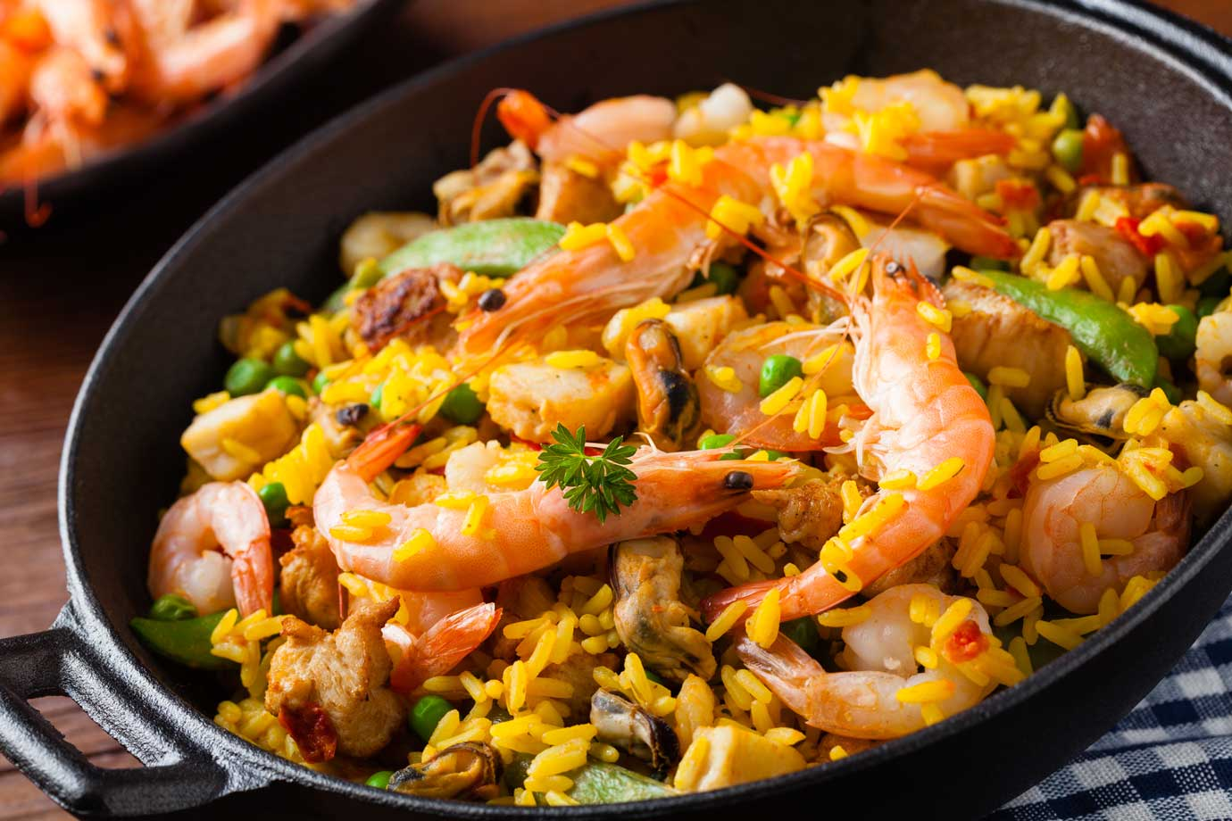 Paella & Grill Dishes