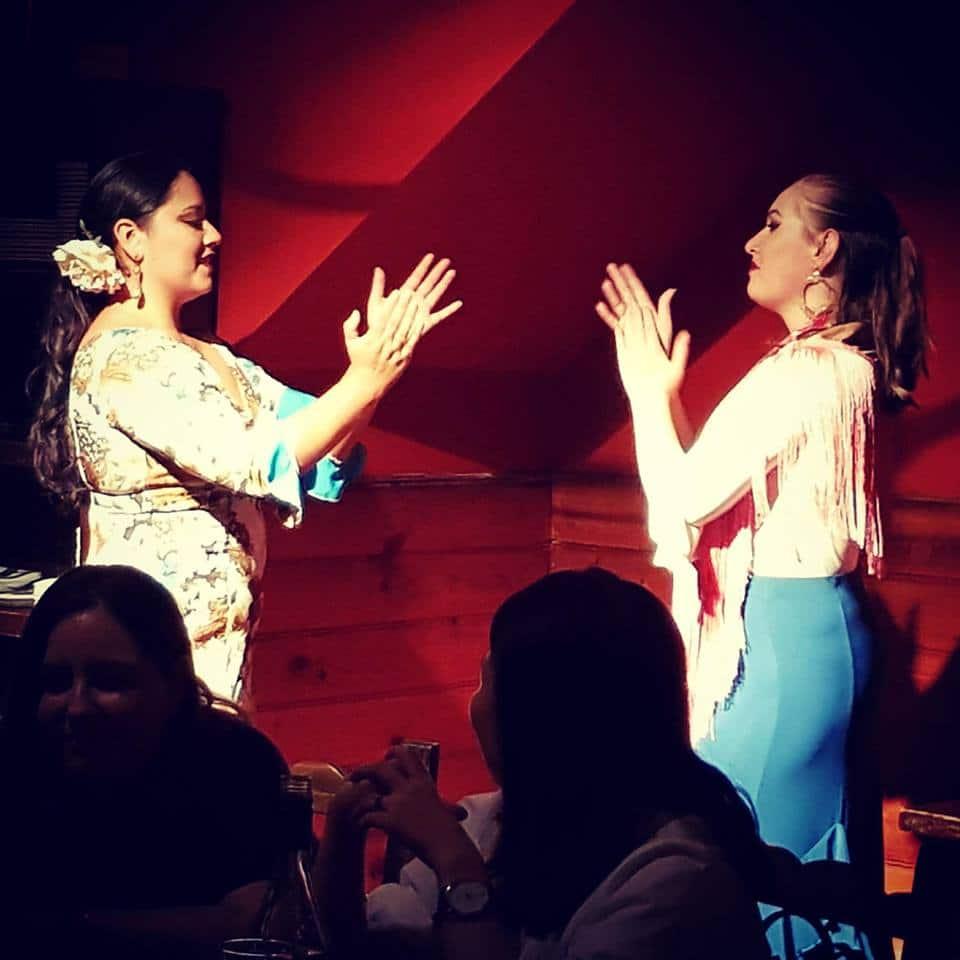 live flamenco show spanish tapas glebe
